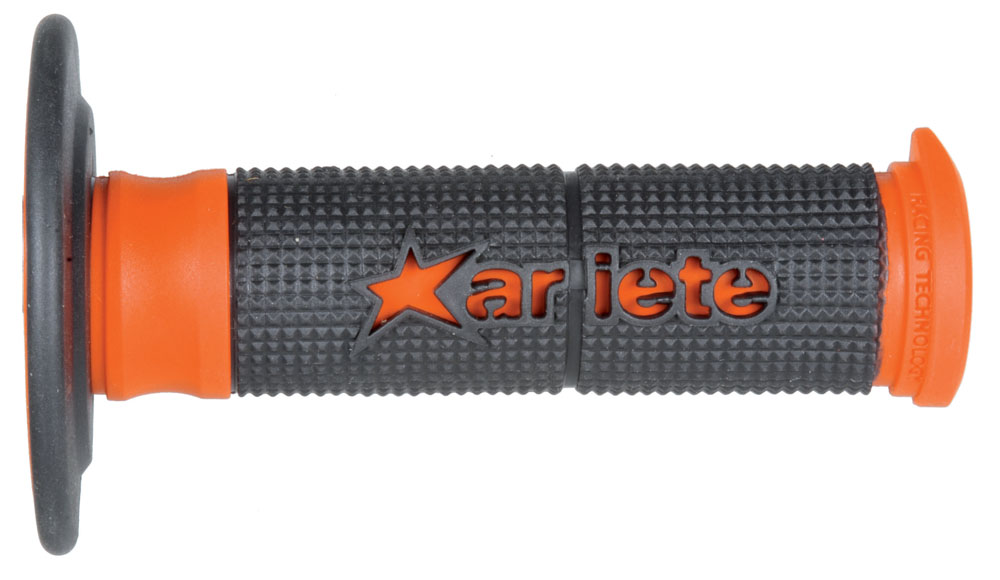 02629-NAR грипсы 2шт PAIR DUALITY GRIPS BLACK-ORANGE Ariete, артикул AM.Ariete.02629-NAR в интернет-магазине ScooterPrice.ru